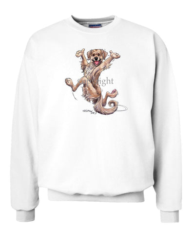 Golden Retriever - Happy Dog - Sweatshirt