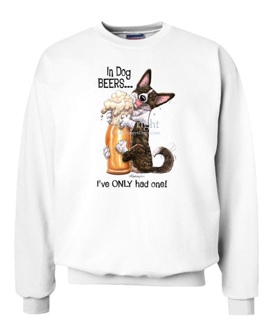 Welsh Corgi Cardigan - Dog Beers - Sweatshirt