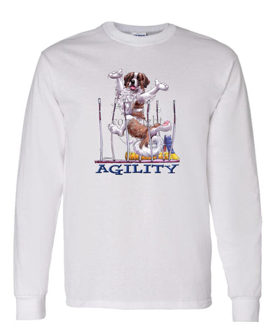 Saint Bernard - Agility Weave II - Long Sleeve T-Shirt