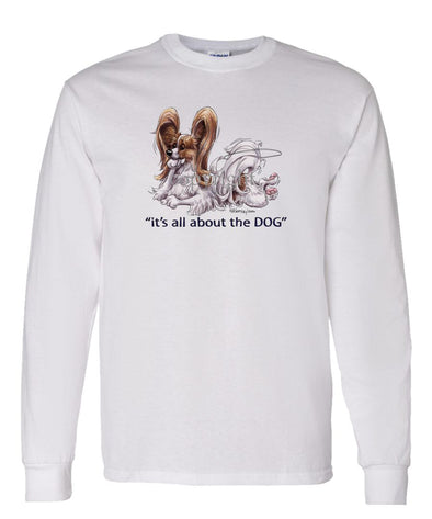Papillon - All About The Dog - Long Sleeve T-Shirt