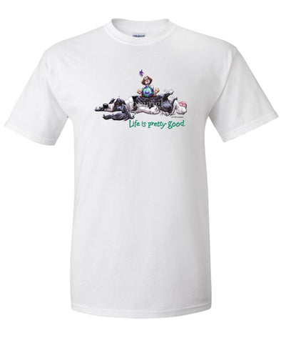 English Springer Spaniel - Life Is Pretty Good - T-Shirt