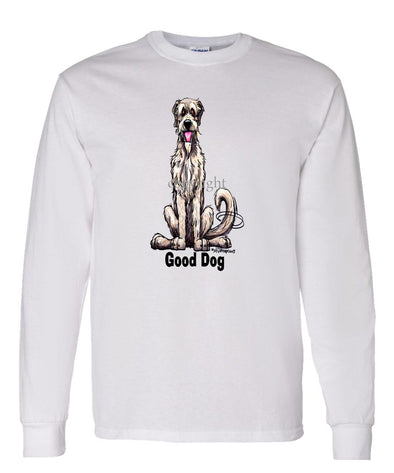 Irish Wolfhound - Good Dog - Long Sleeve T-Shirt