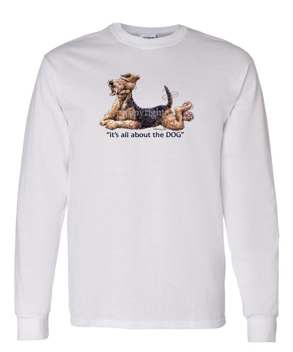 Airedale Terrier - All About The Dog - Long Sleeve T-Shirt