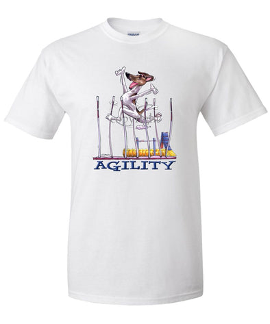 Smooth Fox Terrier - Agility Weave II - T-Shirt