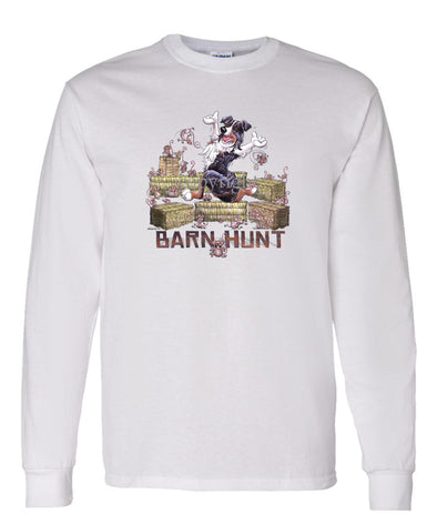 Australian Shepherd  Black Tri - Barnhunt - Long Sleeve T-Shirt