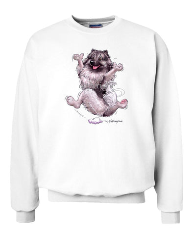 Keeshond - Happy Dog - Sweatshirt