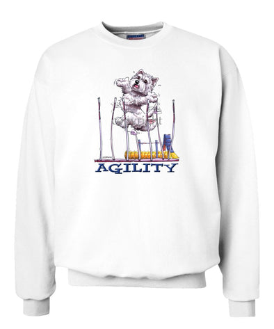 West Highland Terrier - Agility Weave II - Sweatshirt