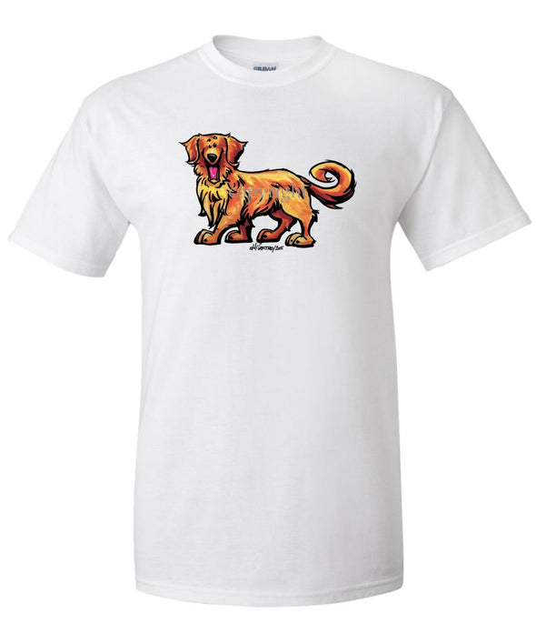 Golden Retriever - Cool Dog - T-Shirt