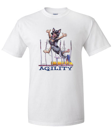 Australian Cattle Dog - Agility Weave II - T-Shirt