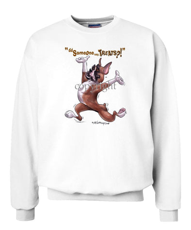 Boxer - Treats - Sweatshirt
