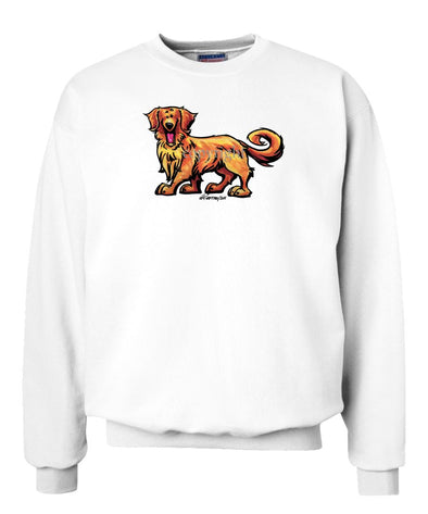 Golden Retriever - Cool Dog - Sweatshirt