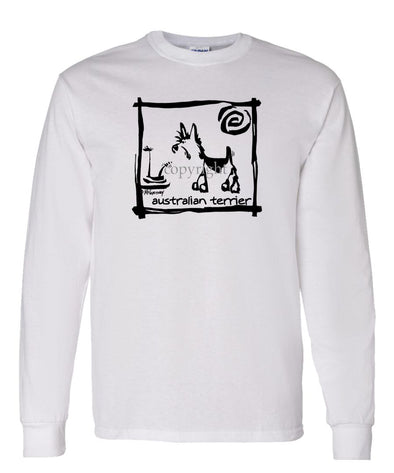 Australian Terrier - Cavern Canine - Long Sleeve T-Shirt