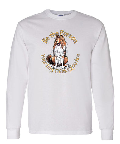 Collie - Be The Person - Long Sleeve T-Shirt
