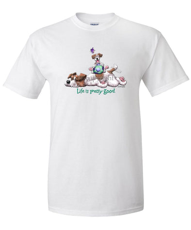 Jack Russell Terrier - Life Is Pretty Good - T-Shirt