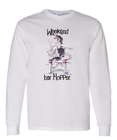 Borzoi - Weekend Barhopper - Long Sleeve T-Shirt