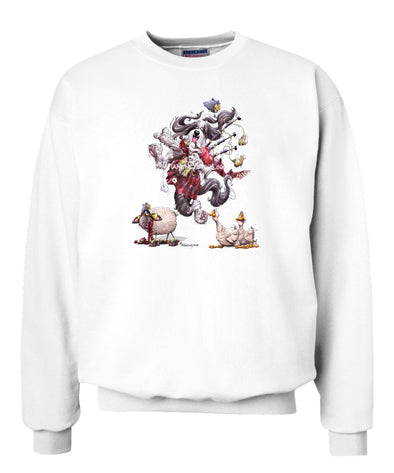 Bearded Collie - Bagpipes - Mike's Faves - Sweatshirt