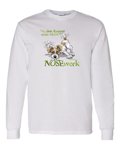 Jack Russell Terrier - Nosework - Long Sleeve T-Shirt