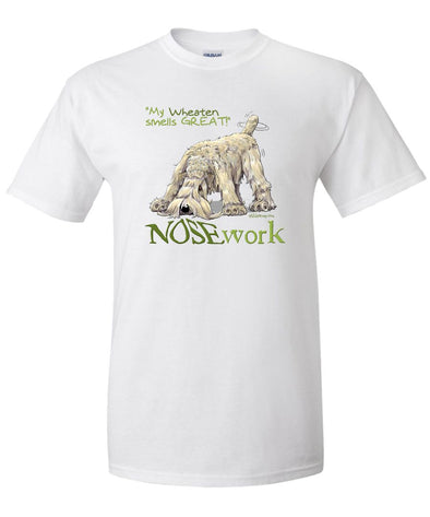 Soft Coated Wheaten - Nosework - T-Shirt