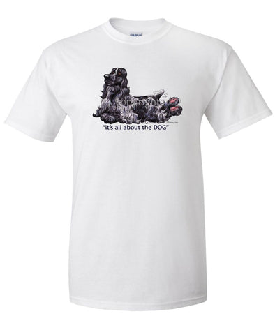 English Cocker Spaniel - All About The Dog - T-Shirt