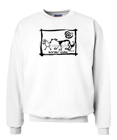 Border Collie - Cavern Canine - Sweatshirt