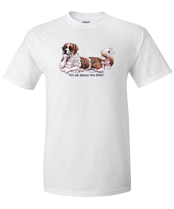 Saint Bernard - All About The Dog - T-Shirt