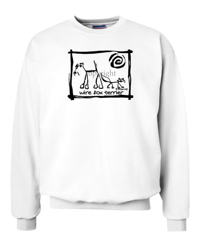 Wire Fox Terrier - Cavern Canine - Sweatshirt