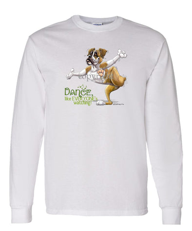 Boxer - Dance Like Everyones Watching - Long Sleeve T-Shirt