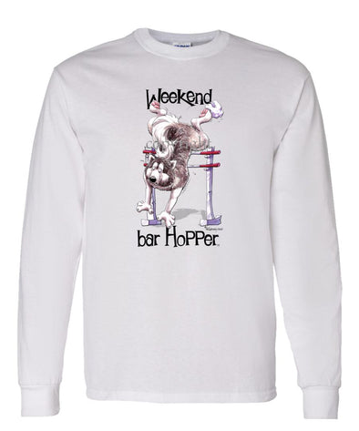 Alaskan Malamute - Weekend Barhopper - Long Sleeve T-Shirt