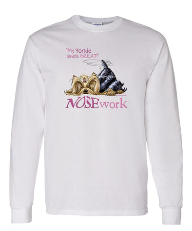 Yorkshire Terrier - Nosework - Long Sleeve T-Shirt