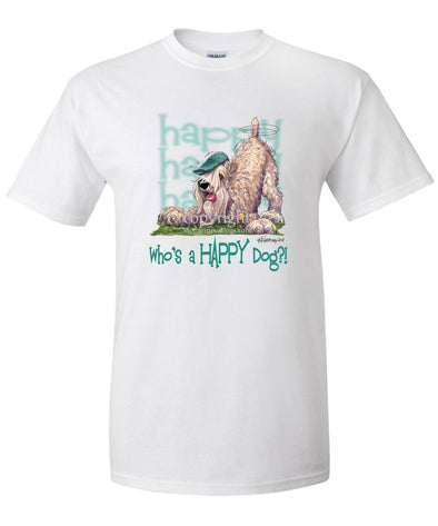 Soft Coated Wheaten - Who's A Happy Dog - T-Shirt