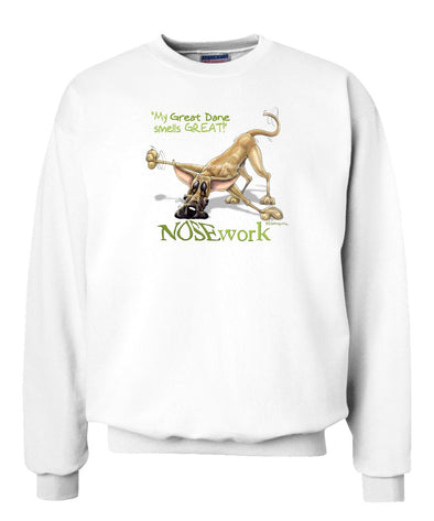 Great Dane - Nosework - Sweatshirt