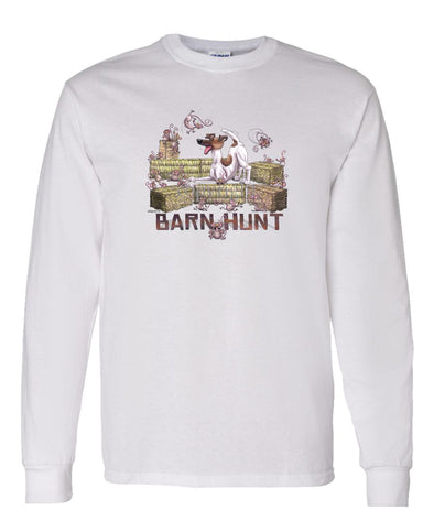 Smooth Fox Terrier - Barnhunt - Long Sleeve T-Shirt