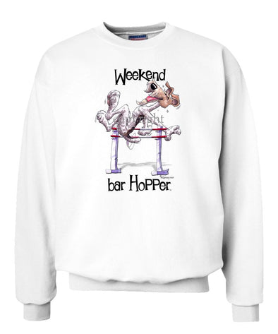 Wire Fox Terrier - Weekend Barhopper - Sweatshirt