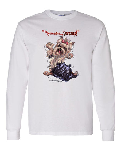 Yorkshire Terrier - Treats - Long Sleeve T-Shirt