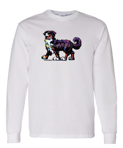 Bernese Mountain Dog - Cool Dog - Long Sleeve T-Shirt