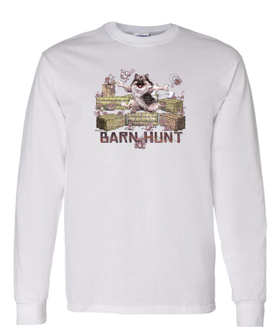 Keeshond - Barnhunt - Long Sleeve T-Shirt