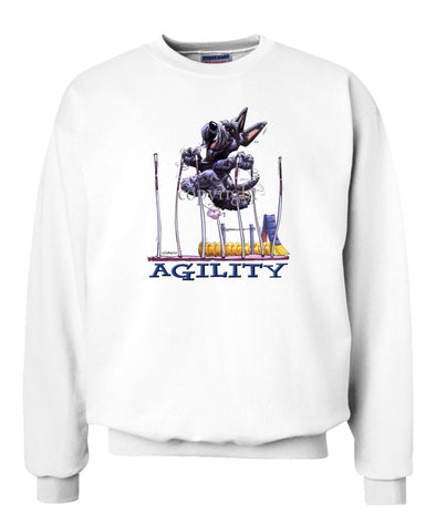 Scottish Terrier - Agility Weave II - Sweatshirt