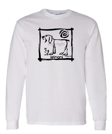 Spinoni - Cavern Canine - Long Sleeve T-Shirt