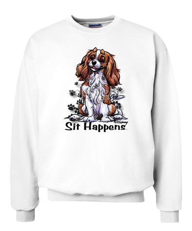 Cavalier King Charles - Sit Happens - Sweatshirt
