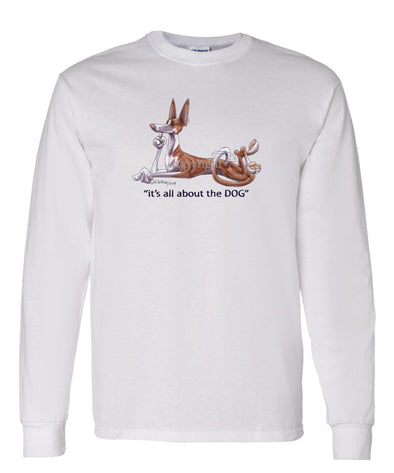 Ibizan Hound - All About The Dog - Long Sleeve T-Shirt