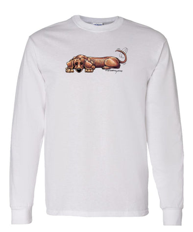 Dachshund  Smooth - Rug Dog - Long Sleeve T-Shirt