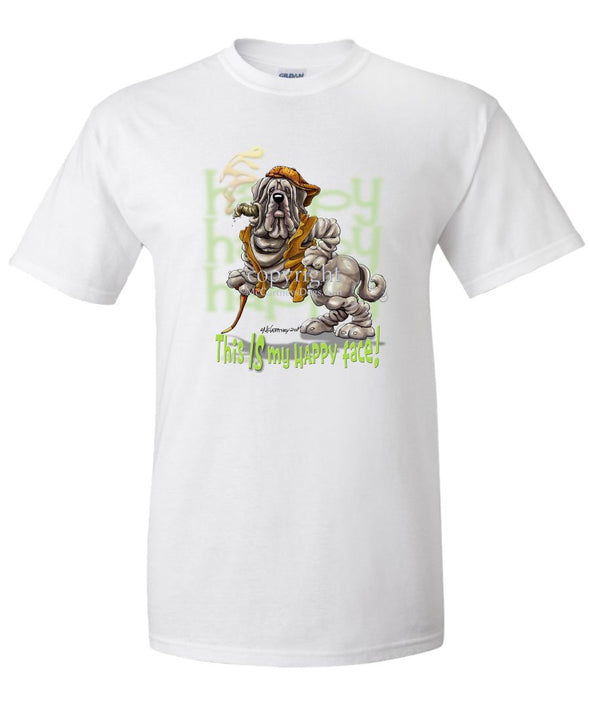 Neopolitan Mastiff - Who's A Happy Dog - T-Shirt