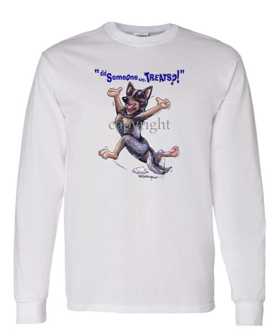 Australian Cattle Dog - Treats - Long Sleeve T-Shirt