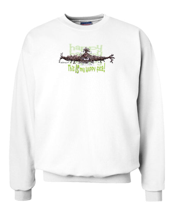 Puli - 2 - Who's A Happy Dog - Sweatshirt