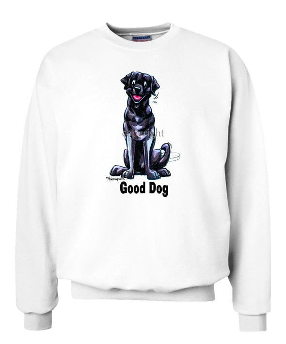 Labrador Retriever  Black - Good Dog - Sweatshirt