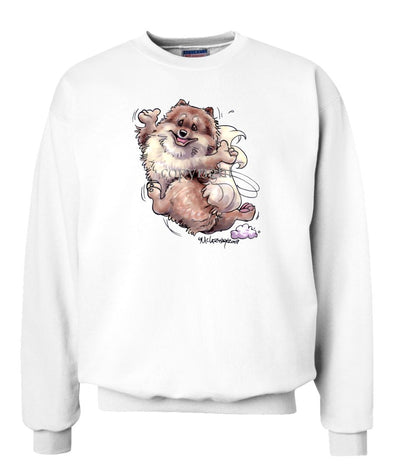 Pomeranian - Happy Dog - Sweatshirt