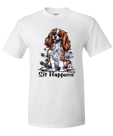Cavalier King Charles - Sit Happens - T-Shirt