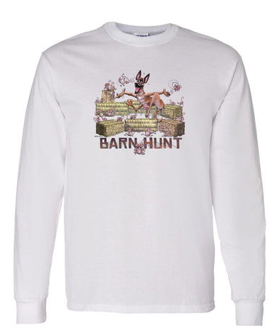 Belgian Malinois - Barnhunt - Long Sleeve T-Shirt