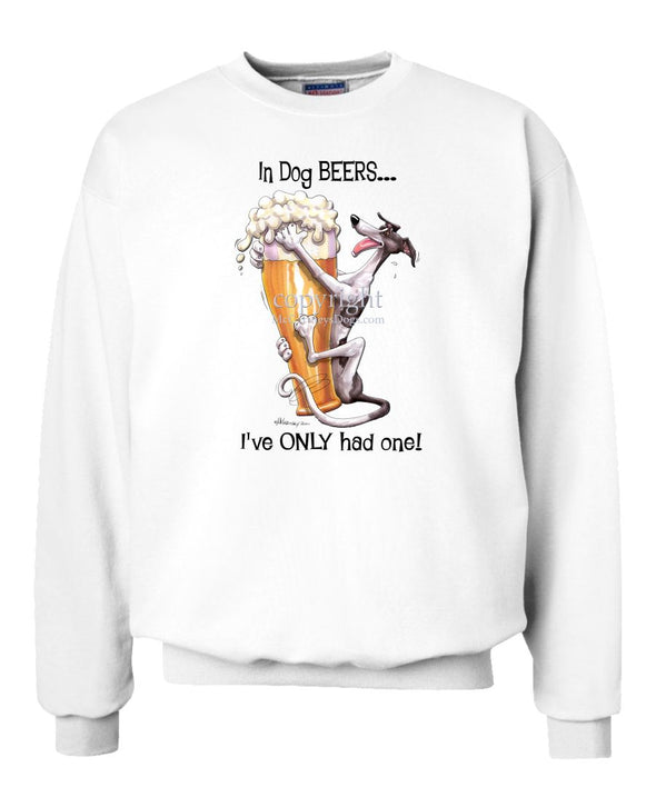Greyhound - Dog Beers - Sweatshirt