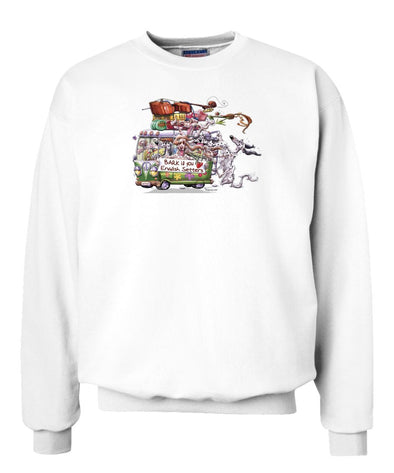 English Setter - Bark If You Love Dogs - Sweatshirt